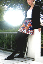 H&M blazer - H&M t-shirt - Zara dress