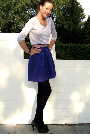 H&M jacket - selfmade skirt - Zara shoes