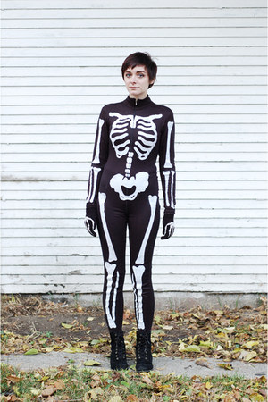 black DIY bodysuit