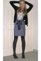 Fi&Co Vintage shirt - Spicysugar skirt - Sportsgirl socks - Switch shoes