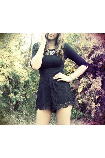 sabo skirt shorts - Marcs bag - YSL ring - Siren heels - sabo skirt top