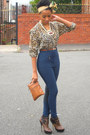 Aldo-boots-h-m-blouse-vintage-pants-asos-necklace