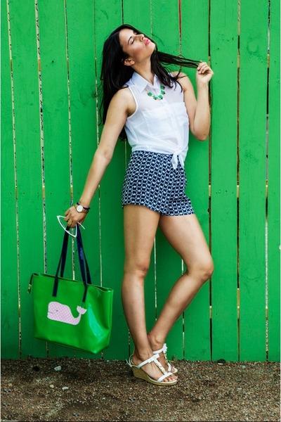 green Lucky B Boutique necklace - green Lucky B Boutique purse