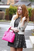 Pimkie blazer - Zara dress - Domi bag