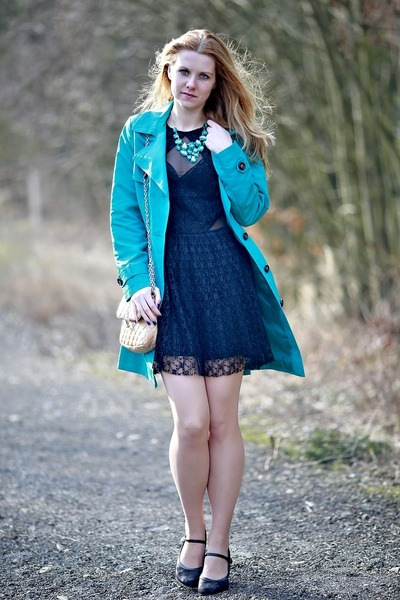 Marks and Spencer coat - asos dress