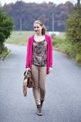 Zara-bag-zara-pants-new-yorker-blouse-h-m-cardigan-humanic-sandals