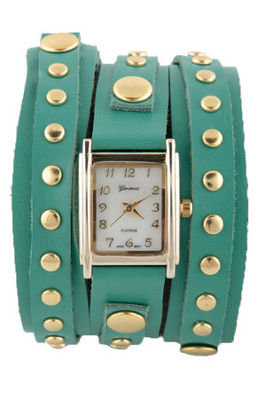 teal LuLus watch