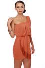 Coral Fringed LuLus Dresses
