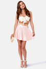 Light Pink LuLus Skirts