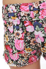 Floral Cuttoffs Lu Lus Shorts