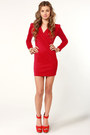 Red Lu Lus Dresses