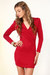 red LuLus dress