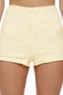 Cream LuLus Shorts