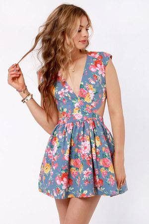 pink LuLus dress