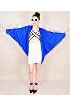 vintage jacket - Charlotte Russe dress - round mod Kiss sunglasses - Target belt