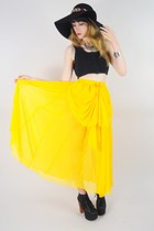 yellow Lush Love Lita skirt
