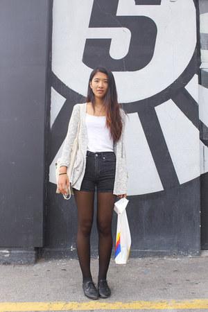H&M shorts - Zara cardigan