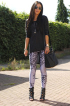 silver Lovelysally leggings
