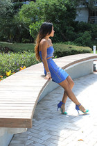 2b bebe dress - Zara heels