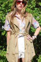 TJ Maxx shirt - H&M shorts - Urban Outfitters vest