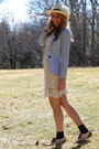 Tj-maxx-dress-h-m-coat-forever-21-hat-wanted-loafers