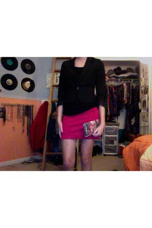 Kenneth Cole bag - H&M blazer - Forever 21 skirt