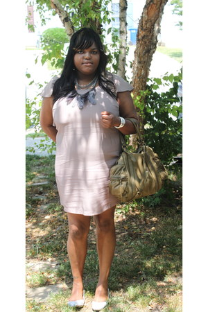 asos dress - asos purse - botkier bag - Steve Madden flats