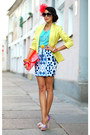 River-island-shoes-lime-reserved-blazer-mirror-print-motel-rocks-skirt