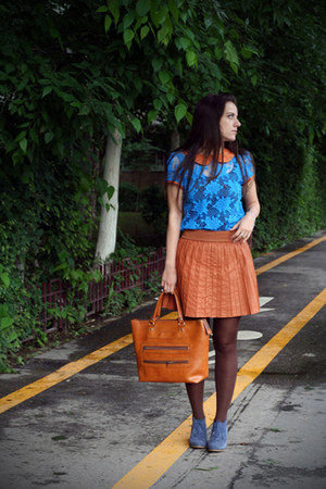 Bershka skirt - wagoneer shoes