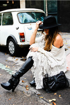 sam edelman boots - Mes Demoiselles dress - Phillip Lim bag