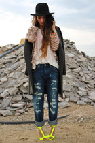 Zara jeans - Zara sandals