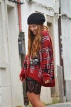 pull&bear cardigan - Zara dress