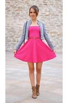 hot pink Primark dress
