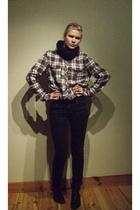 Vailent shirt - Cheap Monday jeans - Din Sko shoes - H&M scarf