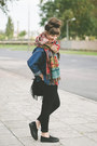 Black-new-look-shoes-navy-romwe-jacket-brick-red-zara-scarf