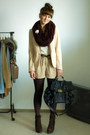 Dark-brown-zara-boots-cream-h-m-blazer-heather-gray-httpallure-bloogblogspot