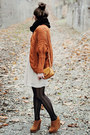 Black-romwe-tights-love-dress-romwe-cardigan-bronze-papilionpl-wedges