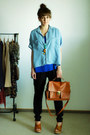 Blue-stradivarius-shirt-tawny-romwecom-bag-blue-stradivarius-top