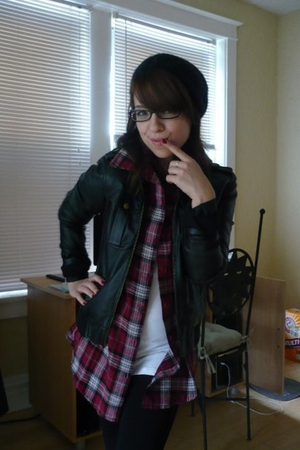 my leather jacket <3