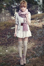 Brown-scorett-boots-off-white-lindex-dress-light-purple-h-m-scarf