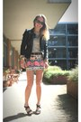 Zara-jacket-aztec-bershka-skirt-pull-and-bear-heels