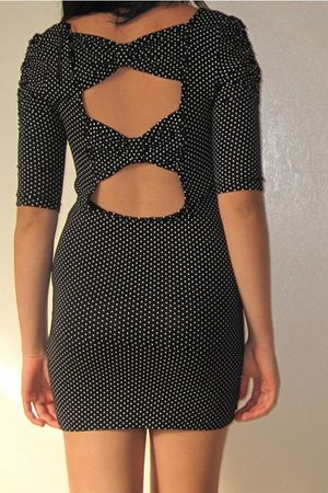 black ValleygirlChicabooti dress
