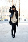 Black-chelsea-wedges-h-m-boots-black-denim-jeans-h-m-jeans-black-zara-hat-
