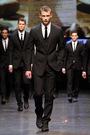 black Dolce & Gabbana suit