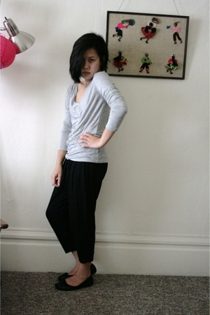 calvin klein top - Express pants - ellemeno shoes