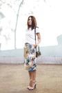 Black-zara-bag-silver-neon-zara-sandals-camel-diy-diy-skirt