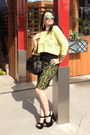 Lime-green-guess-sweater-black-bag-gold-necklace-black-sandals-gold-ring