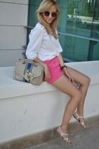 H&M shorts - Sheinside blouse
