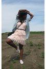 Charlotte-russe-jacket-mendocino-dress-h-m-belt-vintage-purse-keds-shoes