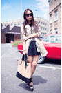 Camel-trench-zara-coat-tan-leather-shopper-bag-black-factorie-skirt
